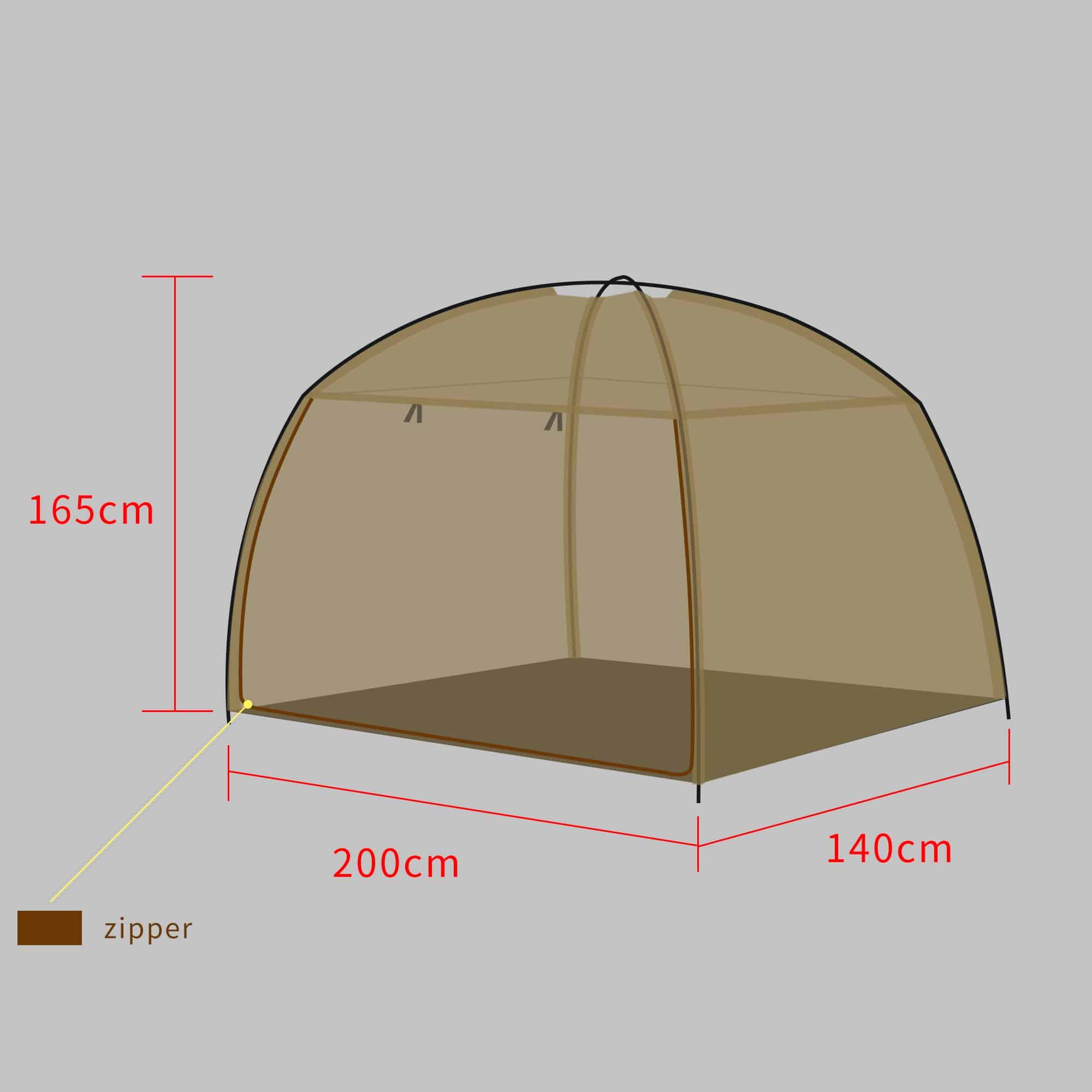 Double Tent New